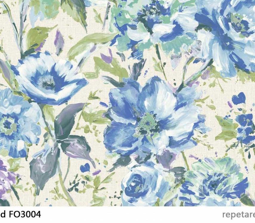 tapet-cu-flori-albastre-fo3004