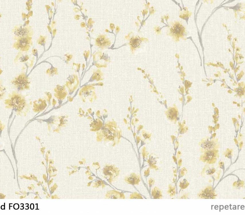 tapet-cu-flori-galbene-fiore