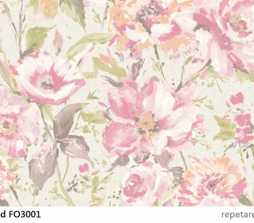 tapet-cu-flori-roz-fiore-fo3001