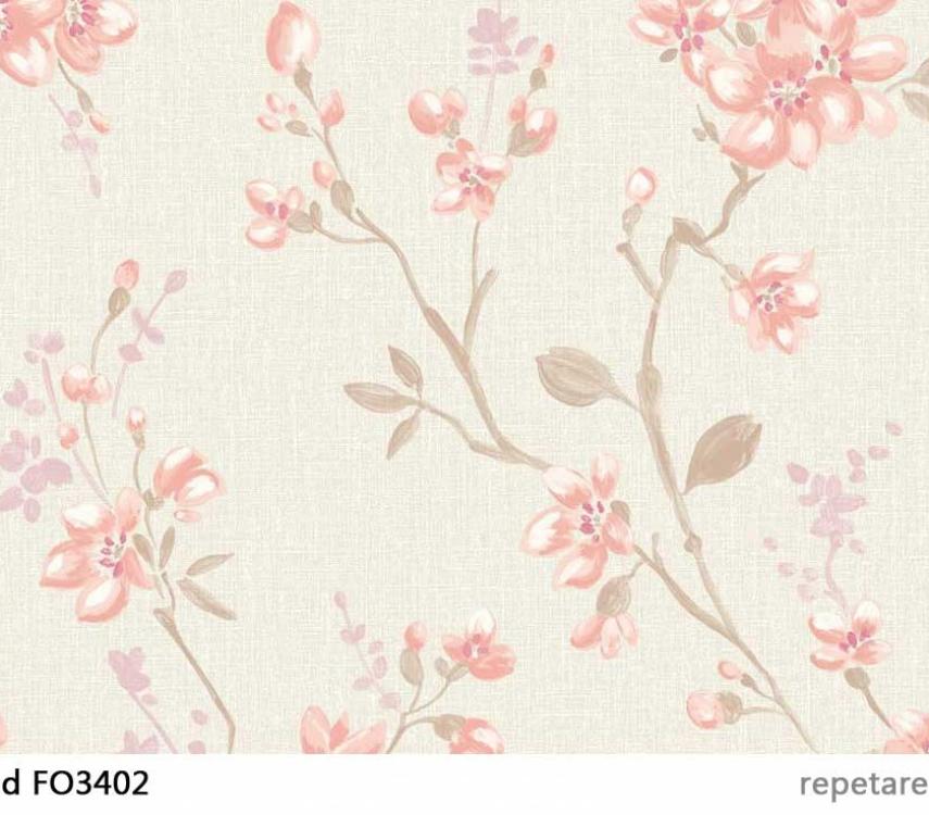 tapet-cu-flori-roz-fo3402