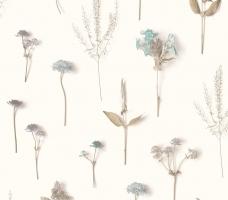 tapet-cu-flori-turcoaz