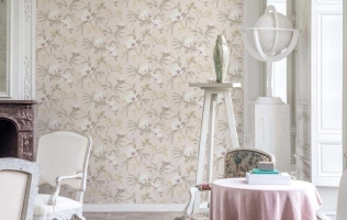 Tapet floral lavabil Fiore