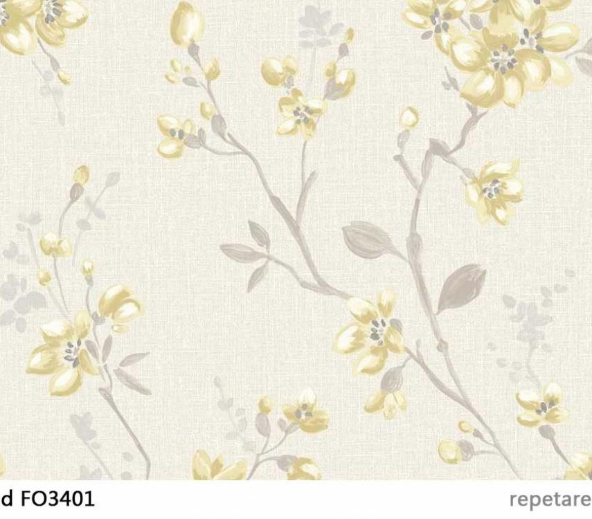 tapet-flori-galbene-fiore-fo3401