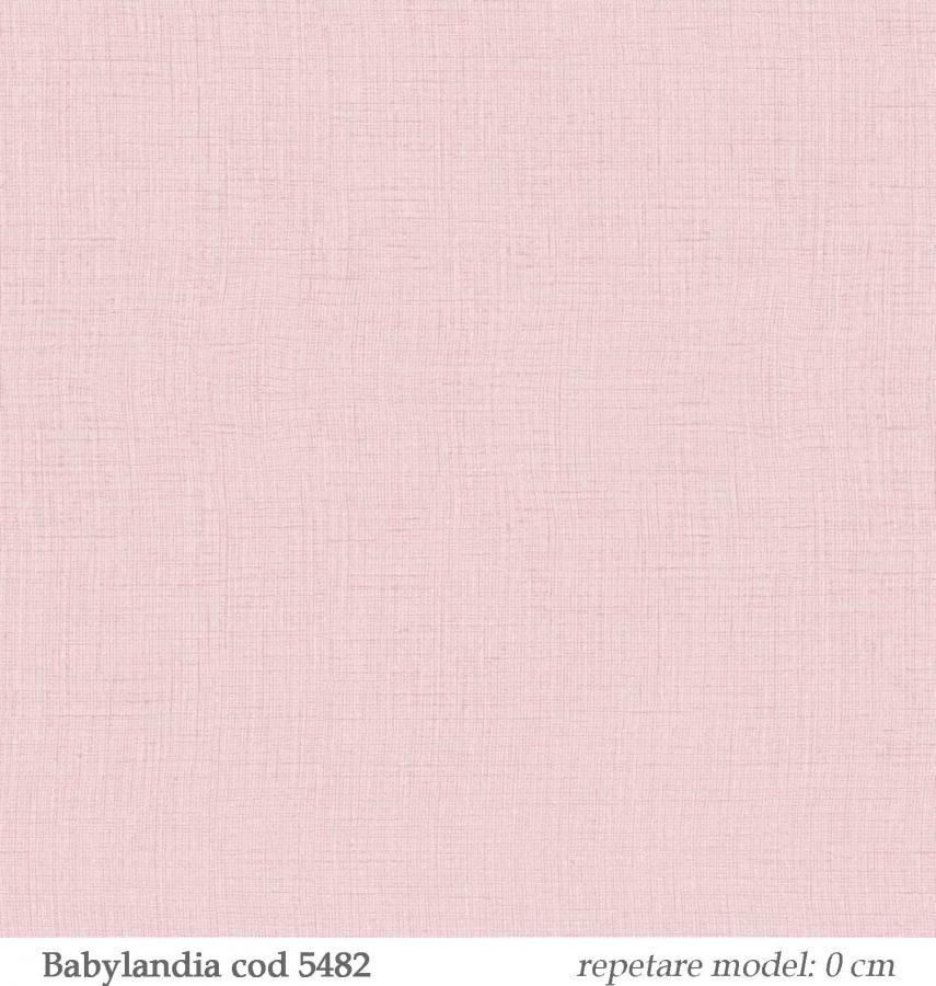 tapet-lavabil-roz-pentru-copii-gama-babylandia-cristiana-masi-parato-cod-5482