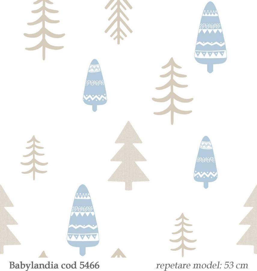 tapet-model-copaci-pentru-copii-gama-Babylandia-parato-cristiana-masi-cod--5466