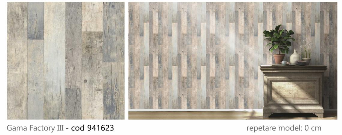 tapet-stil-industrial-tip-lemn-gri